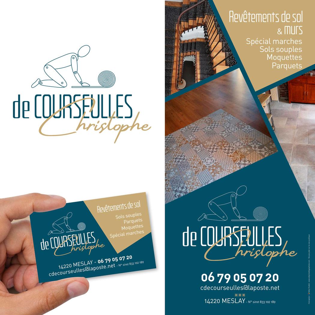 flyer-carte-logo-artisan-revetement-sol-de-courseulles
